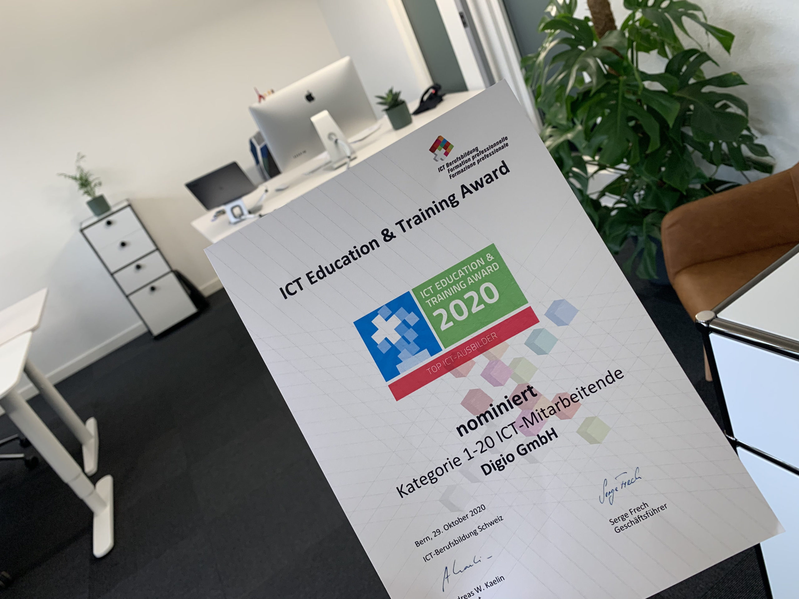 Digio ICT Award 2020 Nomination